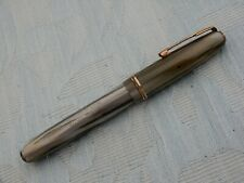 "Small Vintage Silver-Marbled Waterman ""512V"" fountain pen, from old estate"