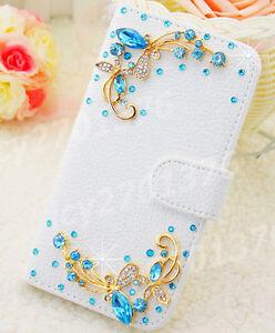 For SAMSUNG GALAXY J7 STAR / CROWN / REFINE 2018 Bling leather flip wallet case