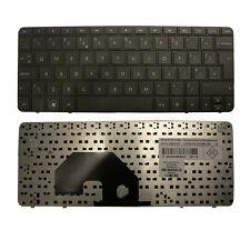 Nueva Hp Compaq Cq10 Mini 110-3000 Teclado De Laptop Reino Unido LAYOUT Negro