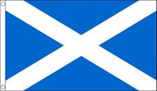 ST ANDREWS CROSS FLAG 5' x 3' Light Blue Scots Saltire Andrew Scotland Scottish