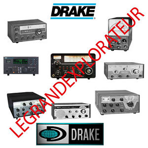 Ultimate  DRAKE  Ham Radio  Operation Repair Service Manual Collection on DVD