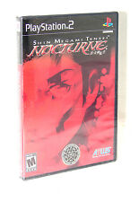 Shin Megami Tensei Nocturne  - PlayStation 2 PS2   ***NEW SEALED***