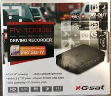 Globalsat RV-1000S 720P HD GPS DVR Dash Cam - Car Camera Blackbox & G-Sensor