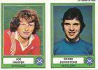 N°231 HARPER / JOHNSTONE EURO FOOTBALL 78 STICKER PANINI VIGNETTE SCOTLAND