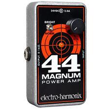 Electro-Harmonix 44 Magnum Guitar Amp Power Amplifier Guitar Pedal +Picks
