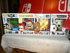 Funko Pop 4pc Lot - Green Sixer/ Gamer Mickey/ Altered Beast Werewolf/ Dracula