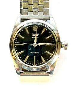 1991 ROLEX OYSTER ROYAL  Men's Manual Wind Watch  Stainless Steel Ser.# N52987