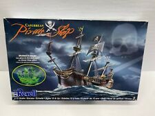 Revell 1:72 Scale Caribbean Pirate Ship Molded in Black Sealed Model Kit NoRes