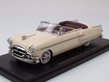 Packard Pacific Covertible 1954 Beige Bordeaux NeoScale 1:43 NEO46430 Model