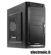 Case PC - mid Tower with Power Supply 450W CMC-400 Crown Micro