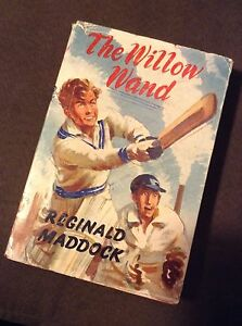 Rare Vintage Cricket Book 1st Edition 1962 The Willow Wand By Reginald Maddock