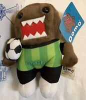 """New Domo Kelly Toy SOCCER Plush Toy 7"""" Stuffed Animal FOOTBALL FUTBOL Ball Doll"""