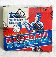 1982 Topps Baseball Unopened Cello Box - BBCE Sealed - 24 Packs Cal Ripken RC?