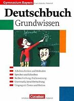 Deutschbuch - Gymnasium Bayern: 5.-10. Jahrgangsstufe - ... | Buch | Zustand gut