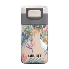 Kambukka Etna Coffee & Tea Travel Mug 300ml with Snapclean Lid - Paradise Flower