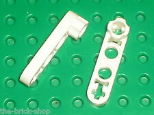 Lego Technic White Liftarm 1x4 Thin with Stud Connector 2825 /set 8868 9748 4564