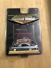 2000 ERTL  - AMERICAN MUSCLE - 1958 PLYMOUTH FURY      -1:64  -New