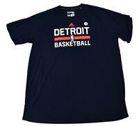 adidas NBA Mens Detroit Pistons Ultimate Tee Shirt New LT, 2XL, 3XLT, 4XLT