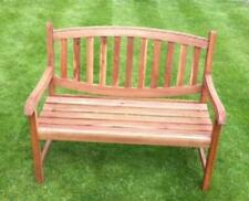 2 Seat Bench Garden Patio Garden Furniture Quality Hardwood Free Delivery
