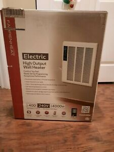 Fahrenheat Smart Series Electric Wall Heater, 4000W, Thermostat, Programmable
