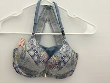 VICTORIA'S SECRET VERY SEXY PUSH UP BRA LACE STRAPPY RACER BACK PASLEY SZ 32C