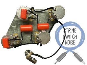 (Gibson) Les Paul, LONG SHAFT POTS, Wiring Harness, Treble Bleed, 50s or Modern