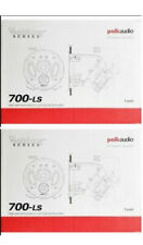 Polk Audio 700-LS Vanishing  In-ceiling Speakers Shipping Fast. (Pair) Brand new