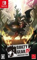 NEW Nintendo Switch GUILTY GEAR 20th ANNIVERSARY PACK JAPAN import Japanese