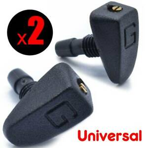 Universal Car Front Windshield Wiper Sprayer Spray Washer Nozzle Sprinkler