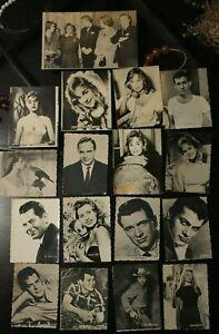 LOT OF VINTAGE PHOTOS OF ACTORS