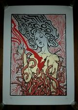 FOO FIGHTERS 2017 LONDON ARMS Show Poster Print Europe UK MALLEUS #'d ENGLAND O2