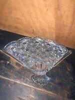 Avon fan shaped trinket or pin tray soap dish 1974 Vintage