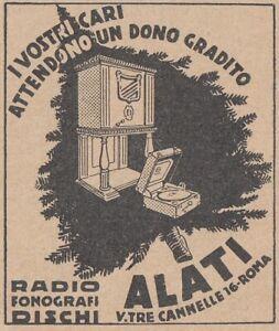 V1947 Radio - Phonographs - Discs - Cupid - Roma - 1931 Advertising - Vintage To