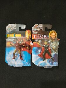 Marvel Avengers Thor and Ironman Figurines Set of 2