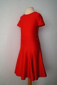 Mädchen Lateinkleid Tanzkleid Turnierkleid rot Gr. 134-140 NEU Sofortversand