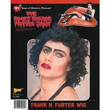 Frank N Furter costume black Wig  Rocky Horror Fancy Dress