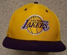 1f12702849a Embroidered Baseball Cap Sports NBA Los Angeles Lakers NEW 1 size fit all  Adidas