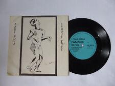 """Paul Nova ~ famoso chicos ~ raras'83 Reino Unido 7"""" mínima Sintetizador Vinilo Single ~ Buen Audio"""