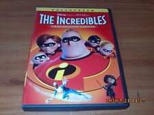 The Incredibles (Dvd, 2005 2-Disc Set, Full Frame, Collectors Edition)