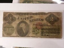 FR. 41 1862 $2 TWO DOLLARS LEGAL TENDER UNITED STATES NOTE 12571