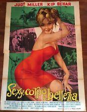 MANIFESTO,4F,S,Sexy,corpo e bellezza,Beauty and the Body,Mart,EROTICO ADULT 1965