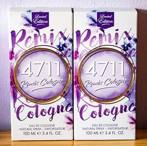 4711 Remix Cologne Lavender 2018 Eau De Cologne 2x100 ML (Gp = 14,98 €/ 100ml)