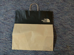 The NORTH FACE Store SHOPPING Paper BAG (Large) Brand New! Authentic 18x19x6
