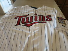 NWT MINNESOTA TWINS Authentic Cool Base HOME JERSEY size 60