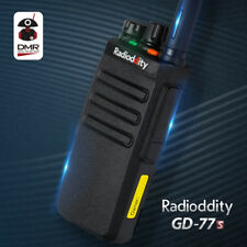 Radioddity GD-77S Voice Prompt VHF UHF Dual Time Slot DMR Digital Walkie Talkie