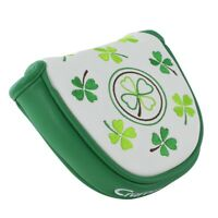 New Magnetic Mallet Golf Putter Cover Headcover for Odyssey Taylormade US Clover