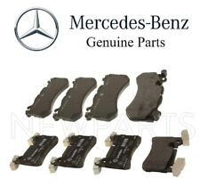 NEW Mercedes C63 AMG 08-15 Set of Front & Rear Disc Brake Pads PAIR Genuine