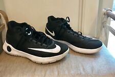 Men's KD Nike black and white basketball shoes size 10