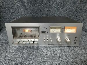 Vintage Pioneer Stereo Cassette Tape Deck CT-F7070