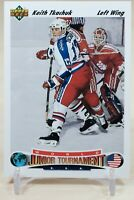 Keith Tkachuk 1991-92 Upper Deck World Juniors #698 Team USA